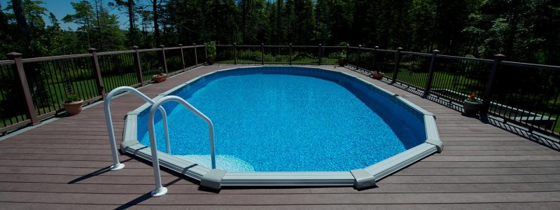 Above ground pool in Halifax, Nova Scotia