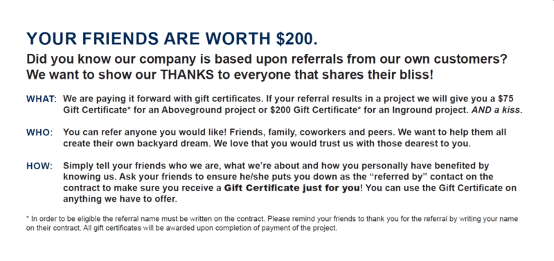 project referrals