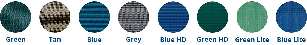 Safety cover colour options