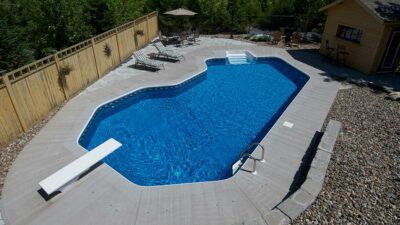 In-ground pool Upper Tantallon, Nova Scotia
