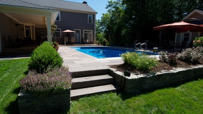 In-ground pool in Glen Arbor, Halifax