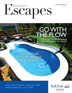 Backyard Escapes Magazine Cover 2016
