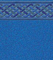 Bali - Blue Granite liner pattern