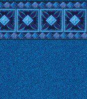 Cancun Blue - Granite liner pattern