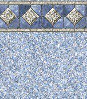 Capri - Fresco II liner pattern
