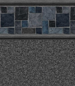 Courtstone Grey - Natural Grey liner pattern