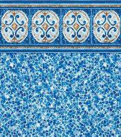 Hampton - Seaglass liner pattern