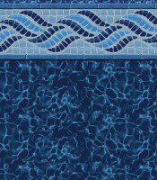 Summerwave - Deep Blue Fusion liner pattern