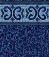 Oxford - Electric Aquarius liner pattern