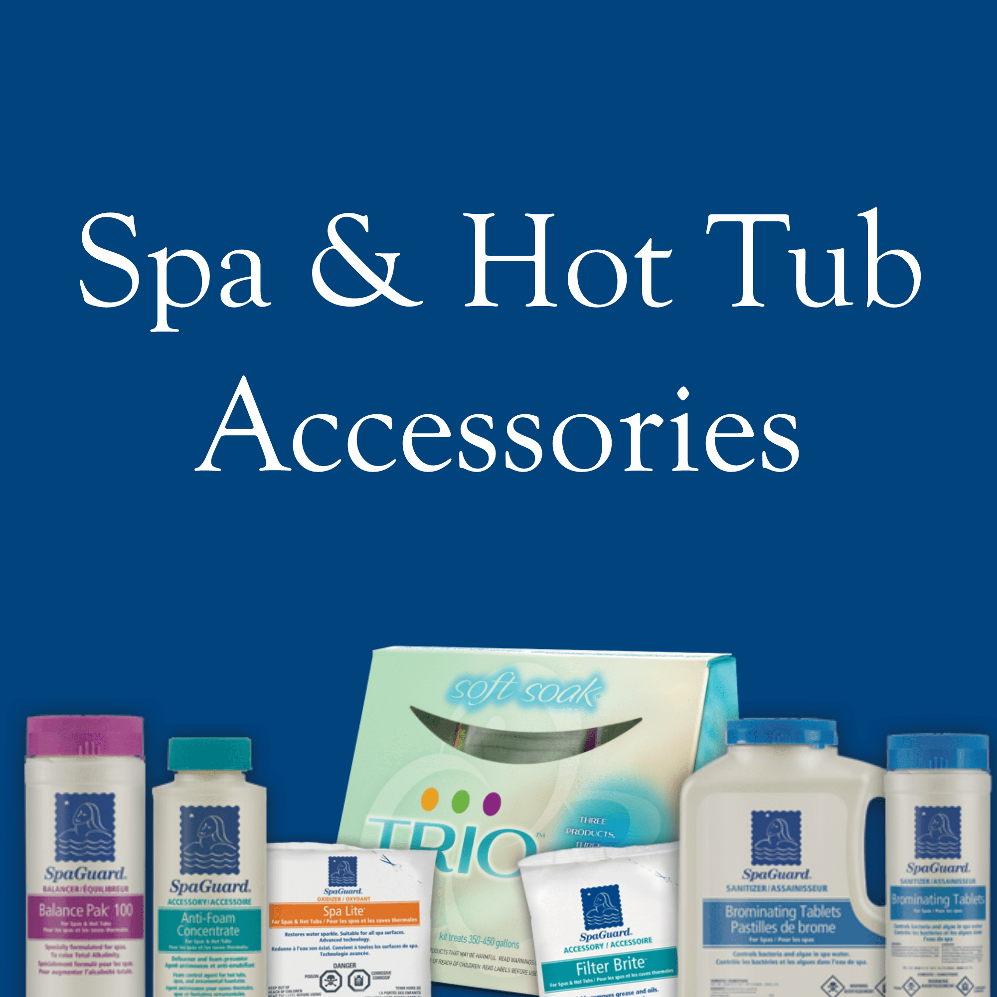 Spa and Hot Tub Accessories