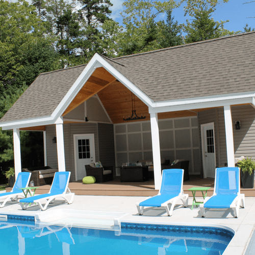 California Small Houses With Pools: Pool House (1)