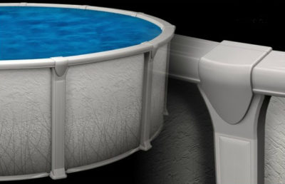 Retreat  Resin Salt Compatible Above Ground Pool